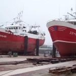 Barcos pintados con Hempel